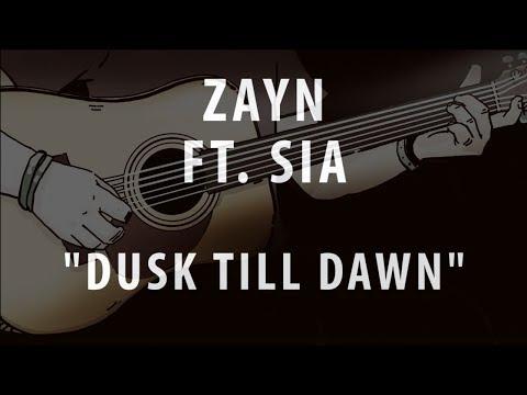 ZAYN FT. SIA - DUSK TILL DAWN (ACOUSTIC INSTRUMENTAL / KARAOKE / COVER)