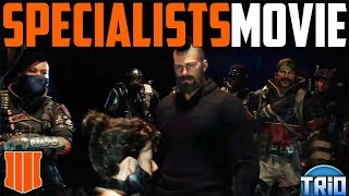 CALL OF DUTY BLACK OPS 4 ALL STORY MODE CUTSCENES (GAME MOVIE)