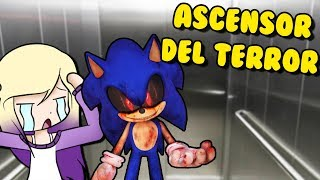 SONIC. EXE IN THE ELEVATOR OF TERROR | Roblox Scary Elevator