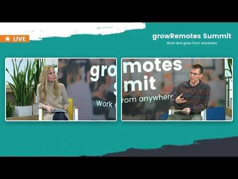growRemotes summit 2021/  workshop with Velina Getova and Vitaliy Filipov