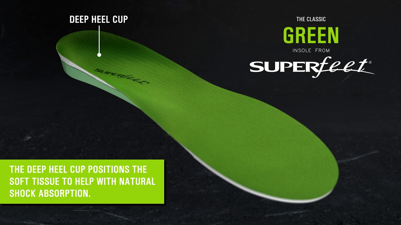 Superfeet Green Insoles - YouTube