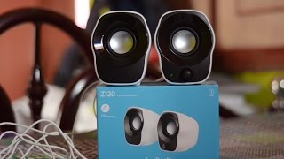 Logitech Z120 Speaker Unboxing and Quick Review ! Best Budget Speaker of 2017!