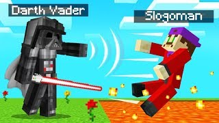 Using THE FORCE As DARTH VADER In MINECRAFT! (Star Wars Mod)