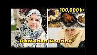 Routine in Ramadan