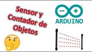 sensor y contador de objetos, personas, animales etc. con arduino (arduino mega)