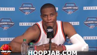 Russell Westbrook On The Terence Crutcher Shooting, Colin Kaepernick & More. HoopJab NBA