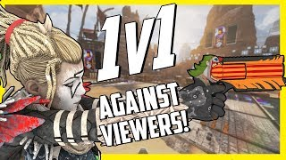 I Challenged Viewers To 1v1s and Gave Winners Apex Coins - Here's How It Went In Apex Legends
