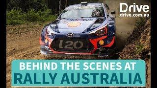 WRC 2018 Behind The Scenes At Rally Australia | Drive.com.au