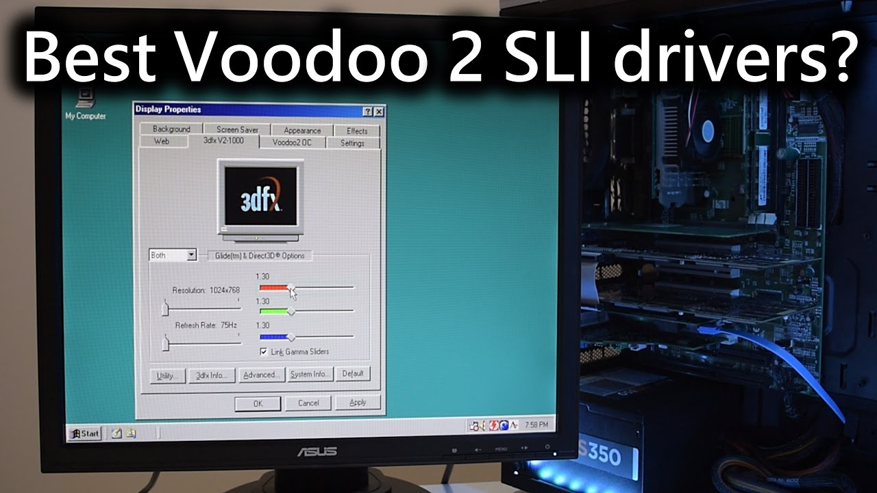 Driver for 3Dfx FastVoodoo2 2.0