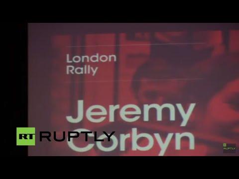 LIVE: Labour's Jeremy Corbyn to speak in London
