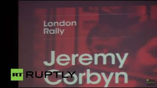 LIVE: Labour's Jeremy Corbyn to speak in London