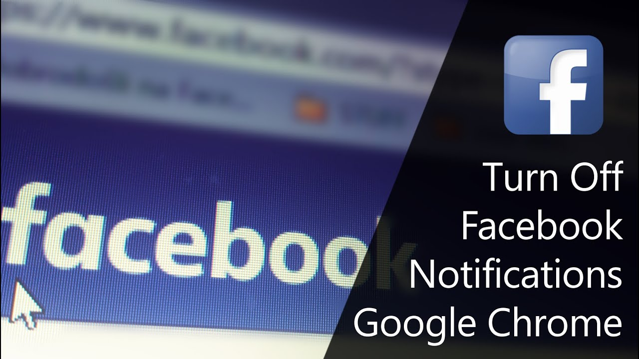 How To Turn Off Facebook Notifications In Google Chrome