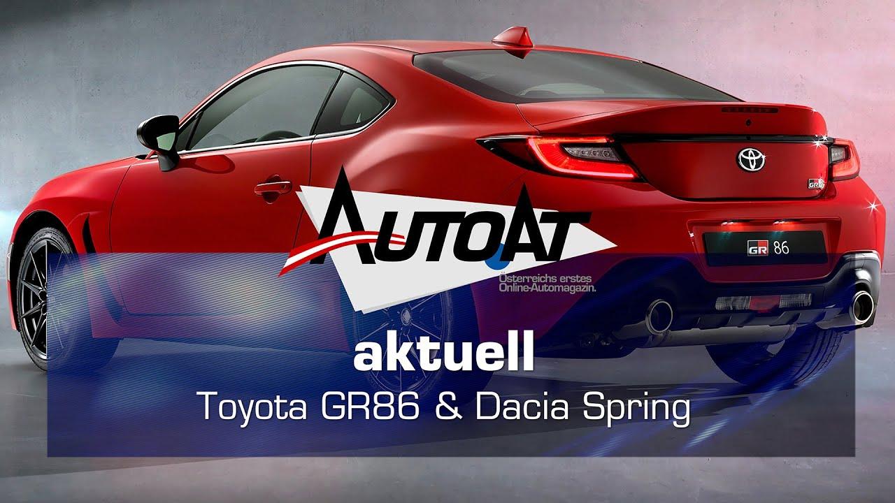 Dacia Spring & Toyota GR86 & Genesis GV70