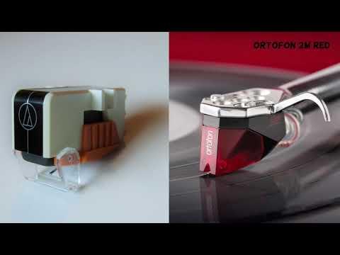 Audio Technica AT96E Vs Ortofon 2M Red
