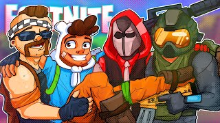 Playing With Old High-School Friends! - Fortnite Battle Royale!