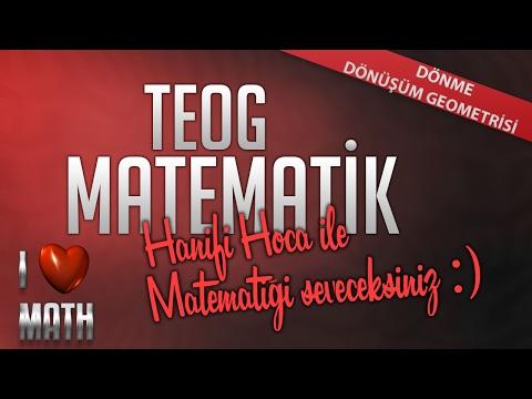 TEOG2 - Dönüşüm Geometrisi Dönme | 8.Sınıf Matematik - Hanifi Hoca