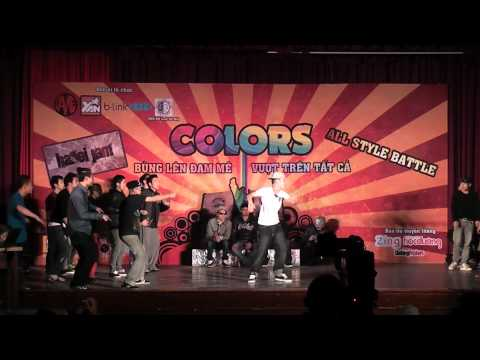 Hanoi Jam All Style Battle-Colours-Big Brothers vs Not Afraid Tribe