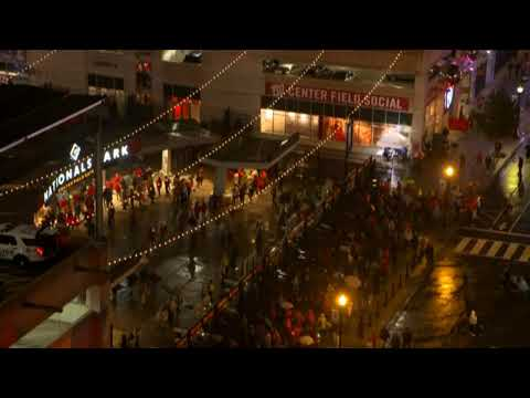Nats fans  attend Nationals Park Game 7 watch party
