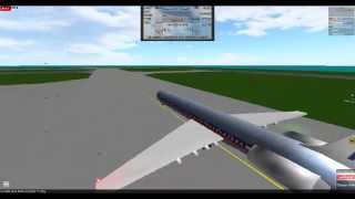 Roblox American Airlines flight 134