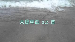 12首大提琴曲