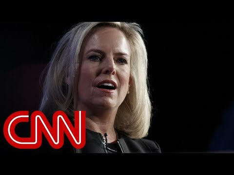DHS Secretary Kirstjen Nielsen is leaving, Trump tweets