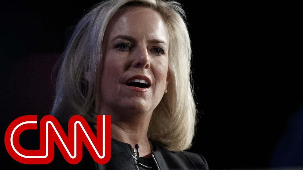 Kirstjen Nielsen Out as Trump's Homeland Security Secretary