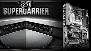 материнская плата ASRock Z270 SuperCarrier
