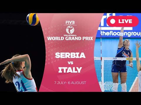 Serbia v Italy - Group 1: 2017 FIVB Volleyball World Grand Prix