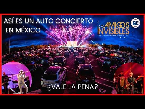 Así es un AUTO CONCIERTO EN LA CIUDAD DE MÉXICO | ¿Vale la pena? Ft. Los amigos Invisibles