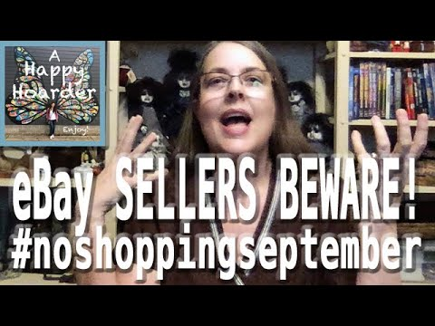 A Happy Hoarder: CAUTION When Shipping to Delaware! Russian eBay Scam! #noshoppingseptember Day 25