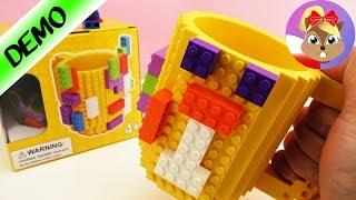 Świetny kubek ozdabiany klockami LEGO | test na żywo