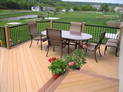 Composite Wooden Terrace Diy