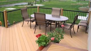 Composite Wooden Terrace Diy
