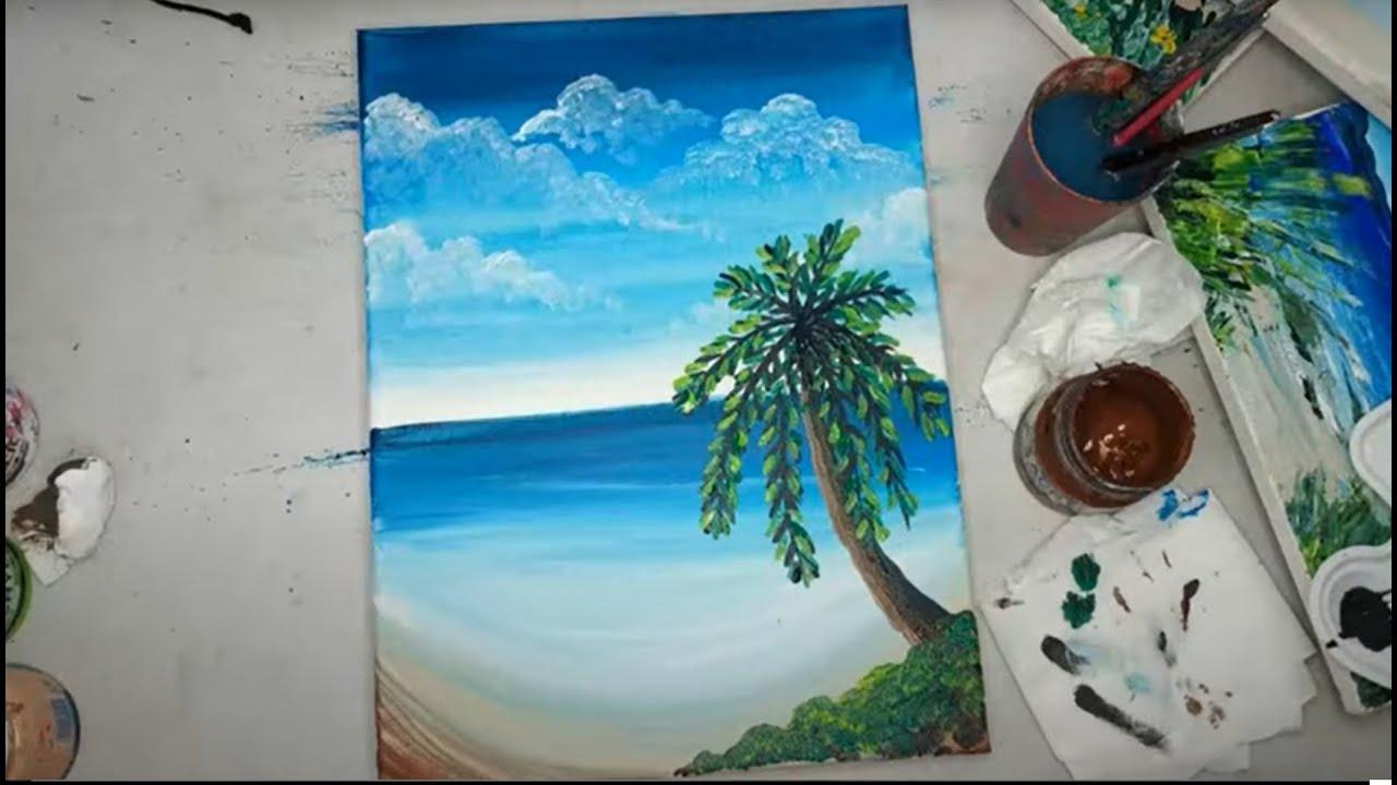 איך לצייר חופים בקלות