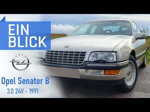 Opel Senator B 3.0 24V 1991 – Opels letzter Oberklassewagen – Vorstellung, Test und Kaufberatung