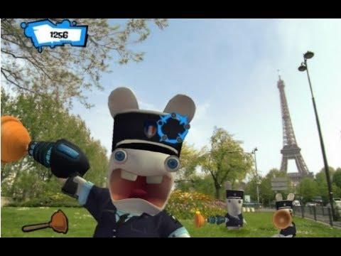 Rayman Raving Rabbids 2 | Episode 6 Big City Fights Wii | ZigZag |