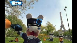 Rayman Raving Rabbids 2 | Episode 6 Big City Fights Wii | ZigZAg Kids HD