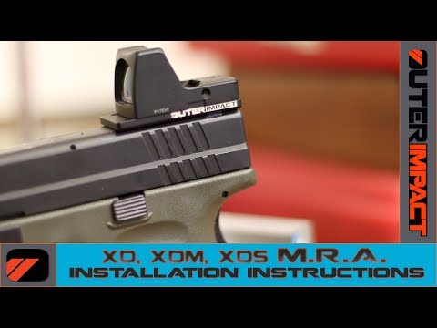 XD, XD MOD.2, XD(M) - Outerimpact M.R.A. Plate Installation Instructions