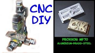 PROXXON MF70 CNC : PART3 usinage de métaux