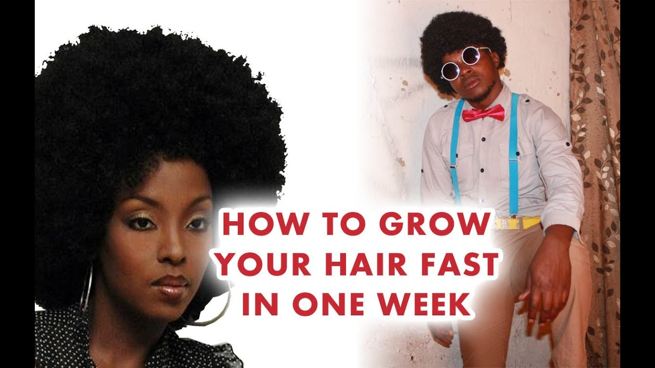 How to grow your hair faster and longer - YouTube