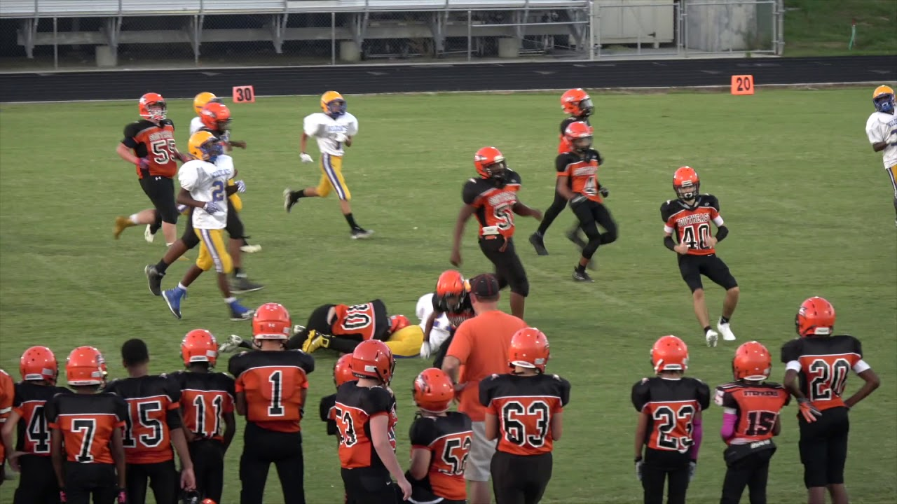 Southeast Guilford Vs Eastern Guilford Middle School Youtube
