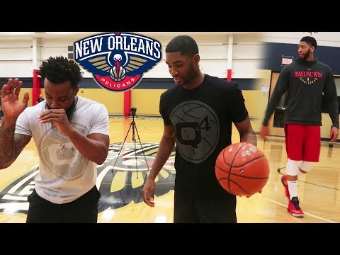 FIXING MY JUMPSHOT! w/ Pelicans Starting Shooting Guard E'Twaun Moore!  NBA's 3 Pointers