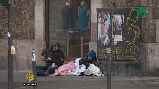Nhức nhối tình trạng vô gia cư tại Pháp | VTC14