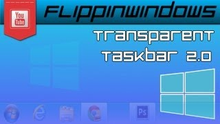 Windows 8 | Transparent Taskbar v2.0