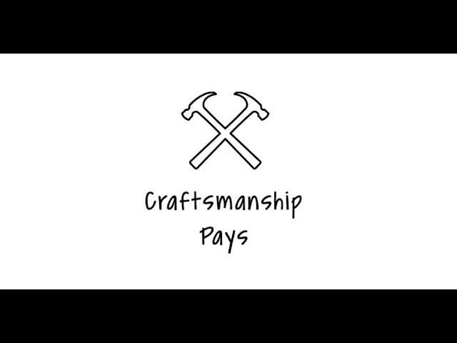 WindsorONE Craftsmanship Pays