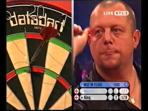 King vs Martin Darts Doeland Grand Masters 2004 Round 1 Group H