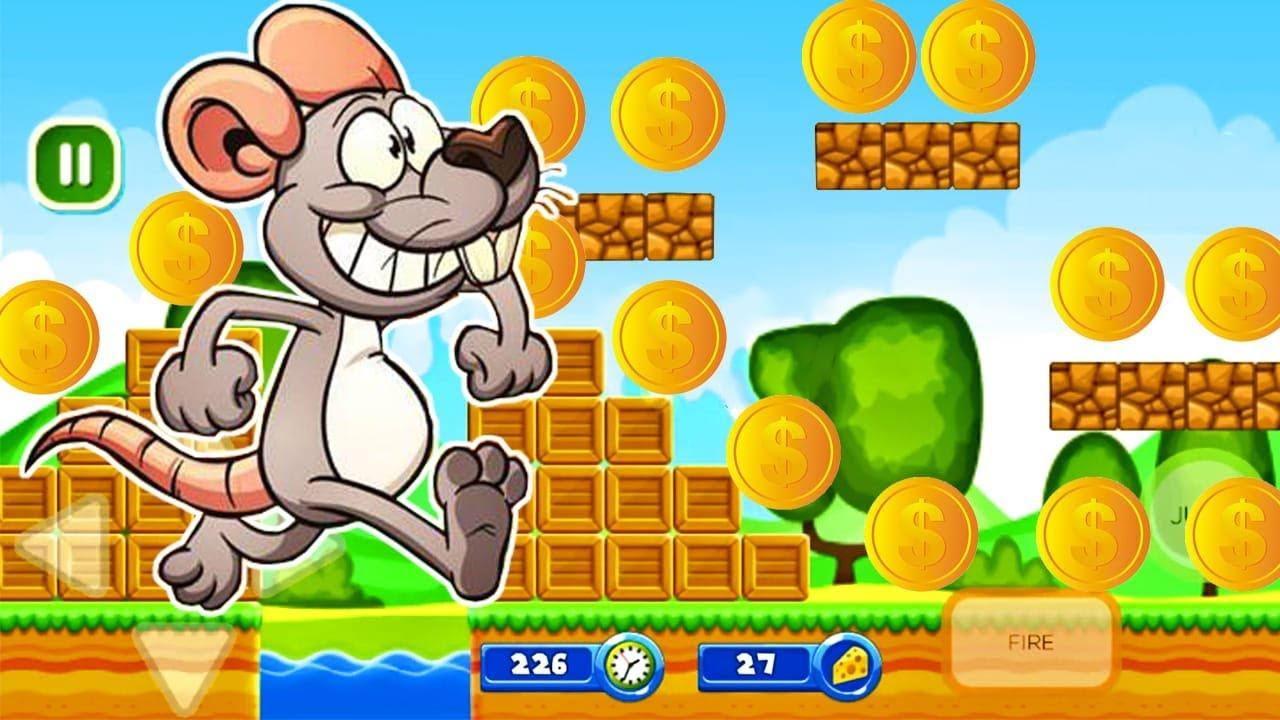 Jerry Adventure - Juegos Para Niños Pequeños - Juegos de Aventura