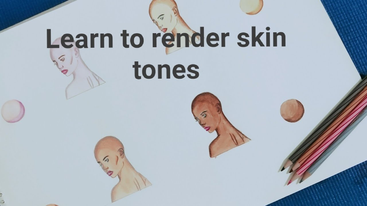 Learn how to render different skin tones in illustration