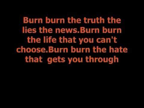Lost Prophets - Burn Burn [Lyrics]