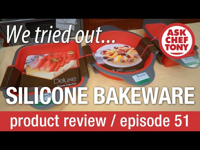 Cooking with SILICONE BAKEWARE? We try it! Review of Boxiki Bakeware set.
